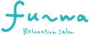 fu-wa relaxation salon logo white small